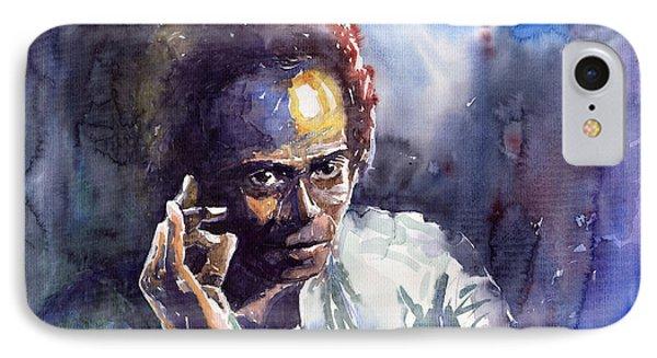 Jazz Miles Davis 11 Phone Case by Yuriy  Shevchuk