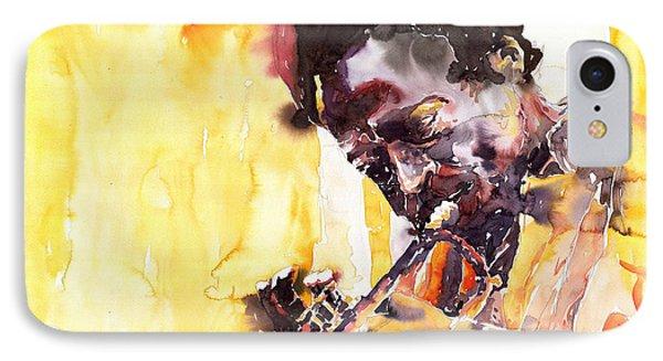 Jazz Miles Davis 6 IPhone Case