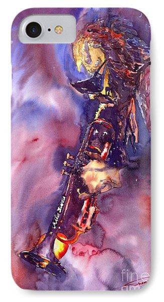 Jazz Miles Davis Electric 3 Phone Case by Yuriy  Shevchuk