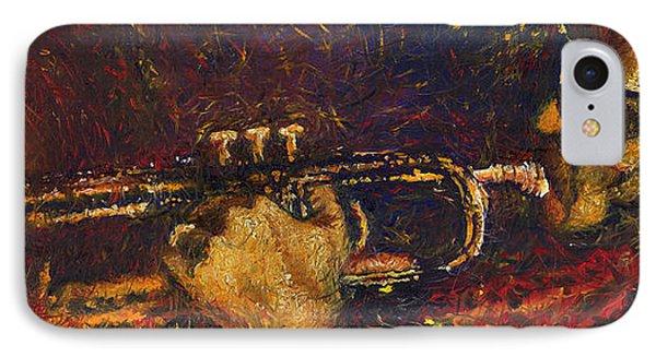 Jazz Miles Davis  Phone Case by Yuriy  Shevchuk