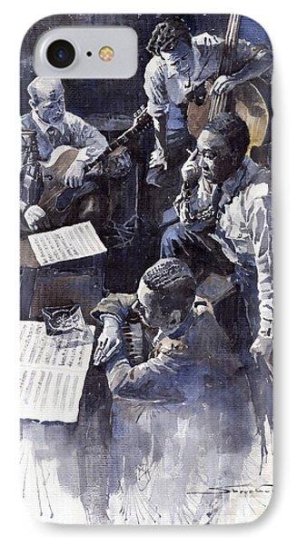 Jazz Parker Tristano Bauer Safransky Rca Studio Ny 1949 IPhone Case by Yuriy  Shevchuk