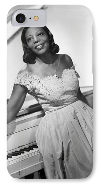 Jazz Pianist Mary Lou Williams IPhone Case