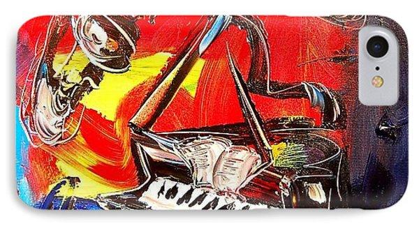 Jazz Piano Phone Case by Mark Kazav