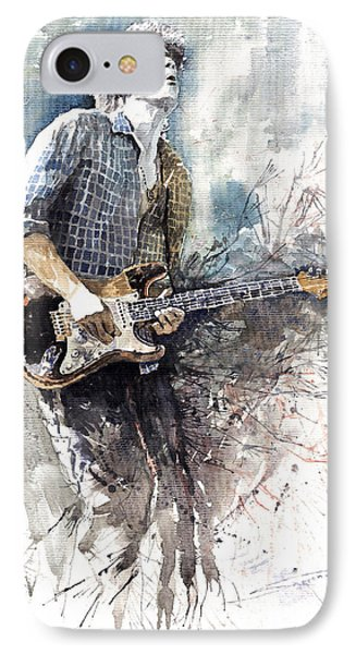 Jazz Rock John Mayer 05  Phone Case by Yuriy  Shevchuk