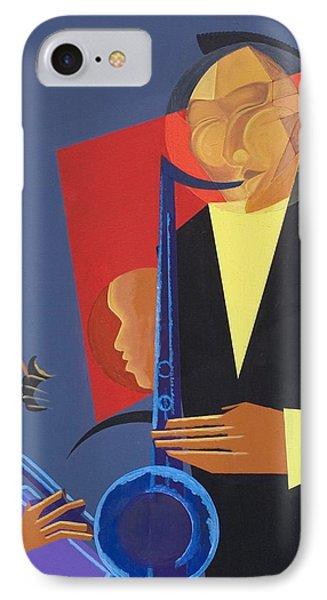 Jazz Sharp Phone Case by Kaaria Mucherera