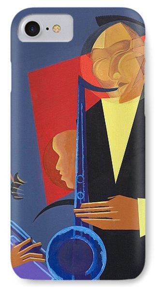 Jazz Sharp IPhone Case by Kaaria Mucherera
