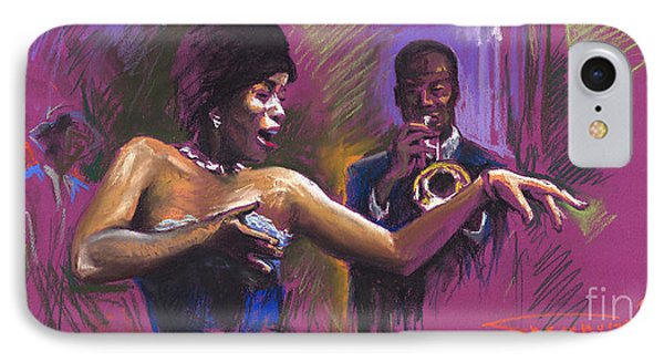 Jazz Song.2. IPhone 7 Case by Yuriy  Shevchuk
