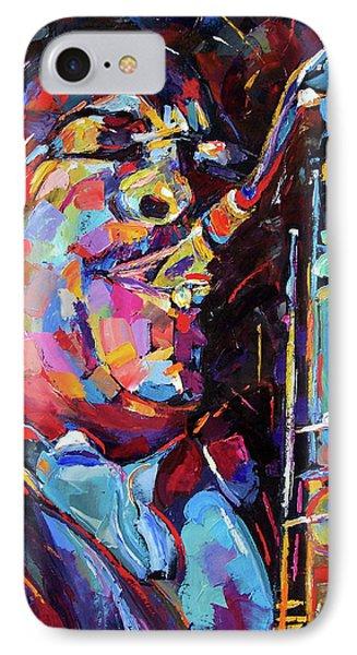 Jazz Trane Phone Case by Debra Hurd