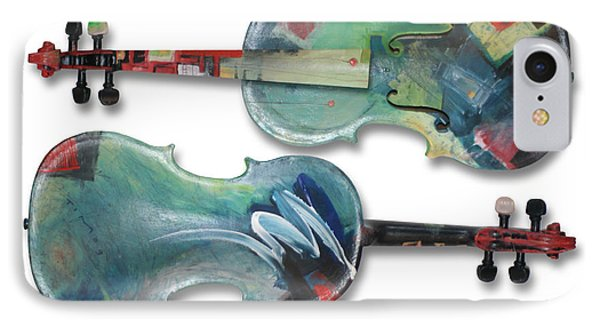Jazz Violin - Poster Phone Case by Tim Nyberg