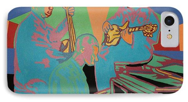 Jazzamatazz Band IPhone Case by Angelo Thomas
