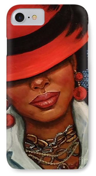 Jazzy IPhone Case by Alga Washington