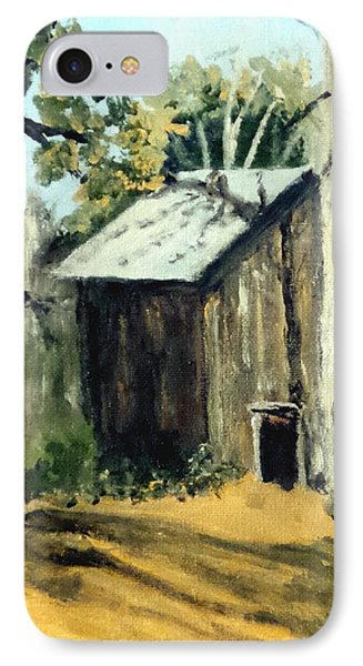Jd's Backker Barn IPhone Case by Jim Phillips
