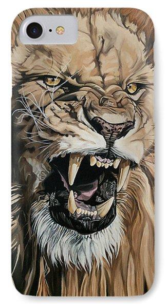 Jealous Roar IPhone Case by Nathan Rhoads