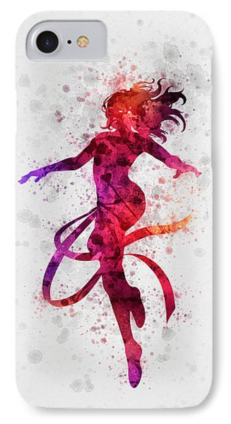 Jean Grey 02 IPhone Case by Aged Pixel