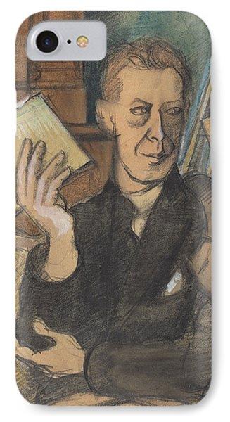 Jean Louis Gampert IPhone Case by Roger De La Fresnaye