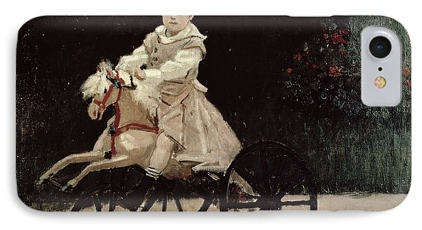 Jean Monet On His Hobby Horse IPhone Case