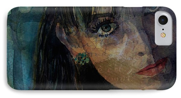 Jean Shrimpton IPhone Case by Paul Lovering