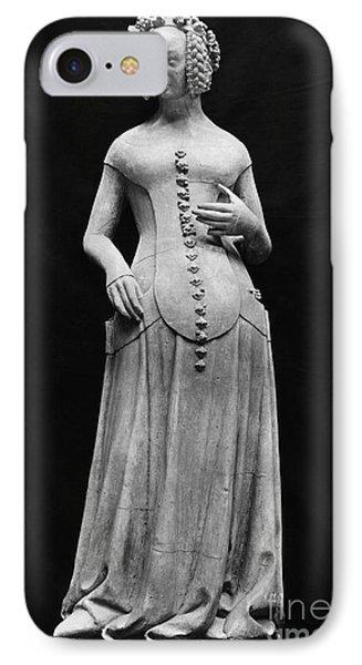 Jeanne II Dauvergne Phone Case by Granger