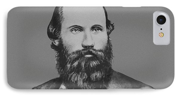 Jeb Stuart -- Confederate General IPhone Case by War Is Hell Store