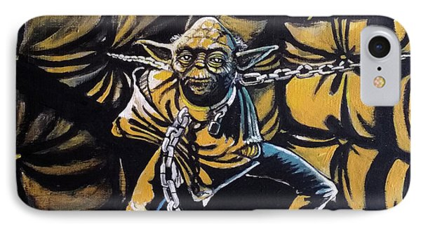 Jedi Master - Mind Of Peace IPhone Case by Tom Carlton