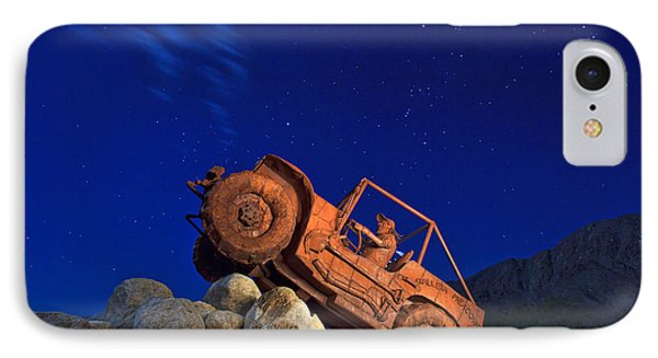 Jeep Adventures Under The Night Sky In Borrego Springs IPhone Case by Sam Antonio Photography
