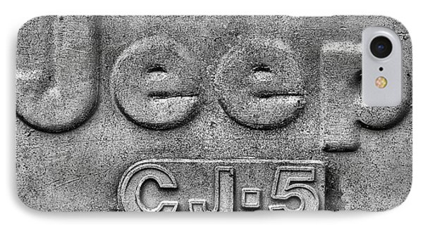 Jeep Cj-5 IPhone Case by JC Findley