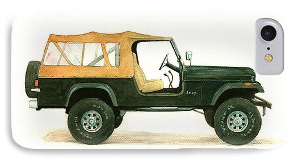 Jeep Cj8 IPhone Case