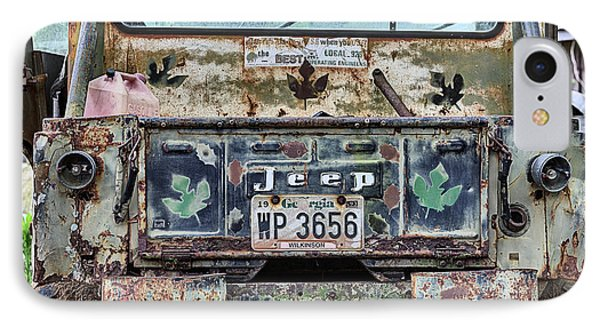 Jeep Made To Last IPhone Case by JC Findley