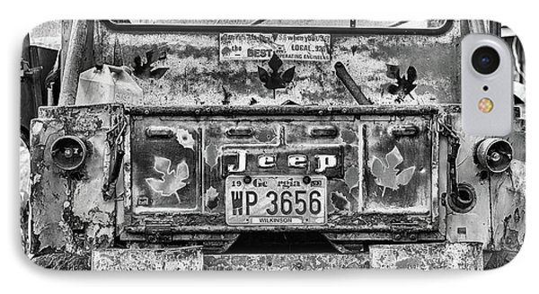 Jeep Strong IPhone Case by JC Findley