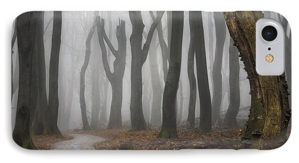 Jeepers Creepers IPhone Case by Martin Podt