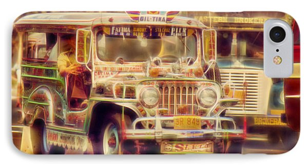 Jeepney Manila IPhone Case by David French