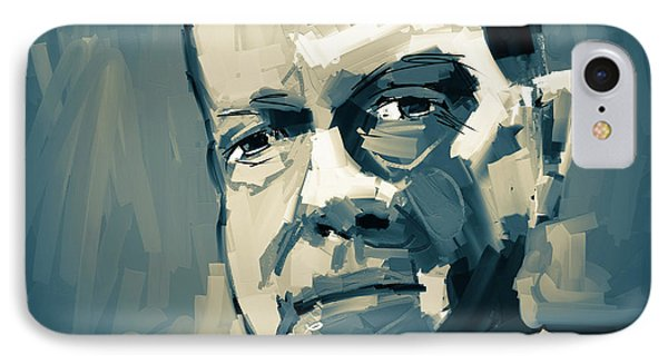 IPhone Case featuring the digital art Jeff by Jim Vance