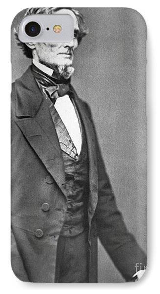 Jefferson Davis IPhone Case by American Photographer