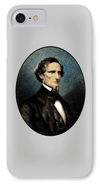 Jefferson Davis Phone Case by War Is Hell Store