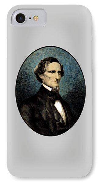 Jefferson Davis IPhone Case by War Is Hell Store