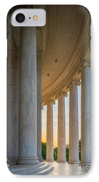 Jefferson Memorial Dawn IPhone Case by Inge Johnsson