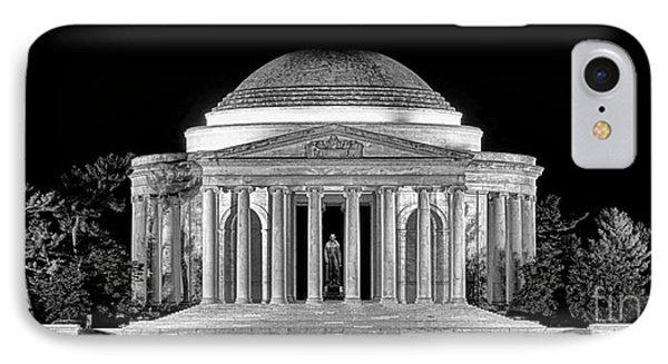 Jefferson Memorial Lonely Night IPhone Case