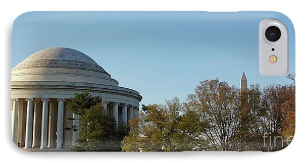 Jefferson Memorial IPhone Case by Megan Cohen