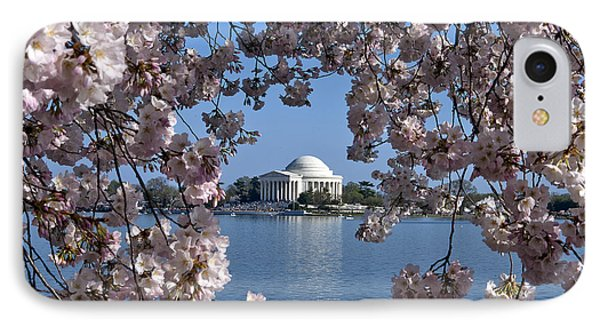 Jefferson Memorial On The Tidal Basin Ds051 IPhone 7 Case