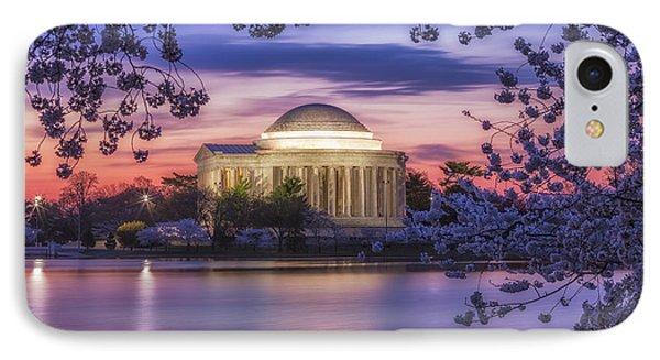 Jefferson Memorial Pre-dawn IPhone Case