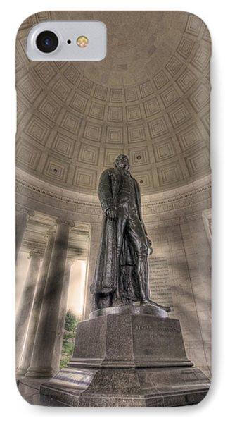 Jefferson Memorial IPhone Case by Shelley Neff