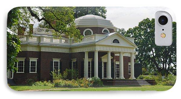 Jeffersons Monticello Phone Case by Bill Cannon