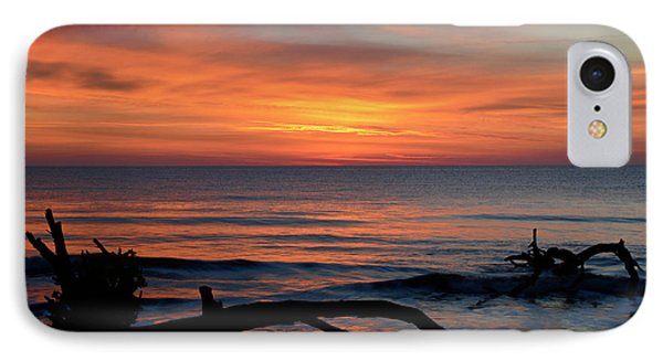 IPhone Case featuring the photograph Jekyll Island Sunrise 2016c by Bruce Gourley