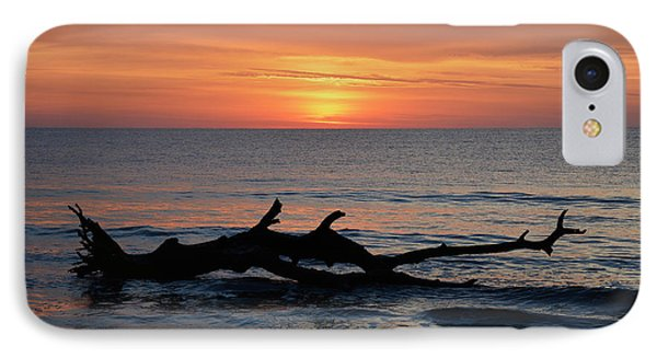 IPhone Case featuring the photograph Jekyll Island Sunrise 2016d by Bruce Gourley