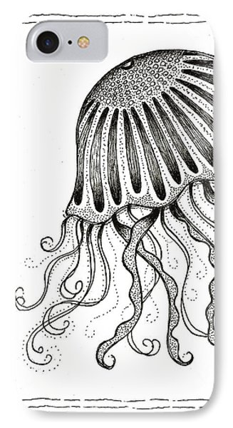 Jelly Fish Phone Case by Stephanie Troxell