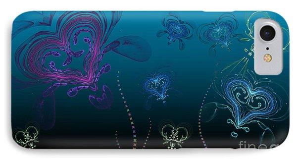 Jellyfish Love Phone Case by Sandra Bauser Digital Art