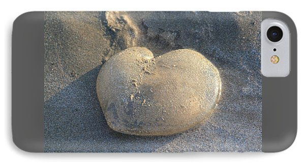 Jellyfish With A Big Heart IPhone Case by Shane Bechler