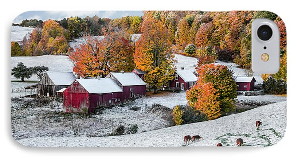 Jenne Farm, Reading, Vt IPhone Case by Betty Denise