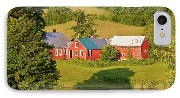IPhone Case featuring the photograph Jenne Farm Reflection by Susan Cole Kelly