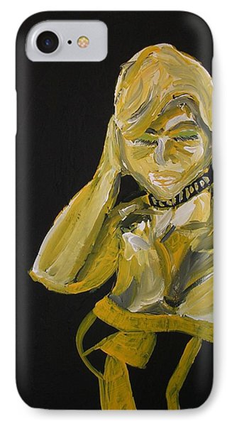 IPhone Case featuring the painting Jennifer by Joshua Redman